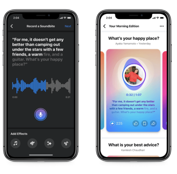 Facebook launches Clubhouse-like live audio rooms and podcasts